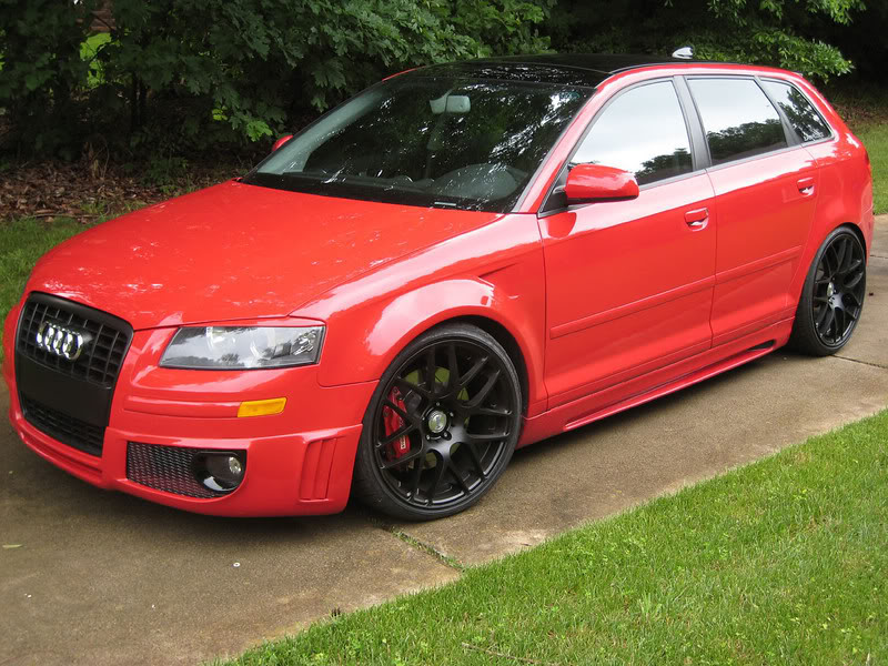 Audi A4 Red Black Wheels Www Imgkid Com The Image Kid