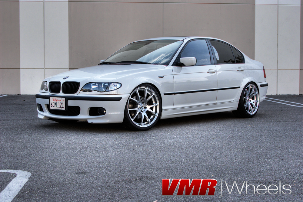 Gallery BMW 3 Series Vmr Wheels Bmw White V713 19 Hyper Silver 239