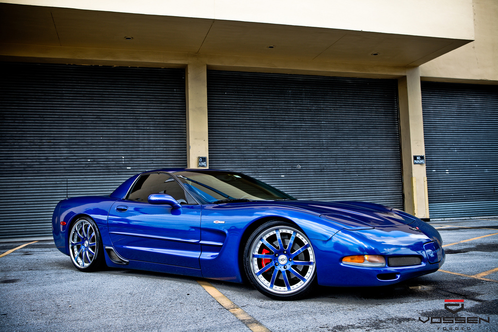 Corvette C5 Z06 Forged Multi Piece Vossen Wheels